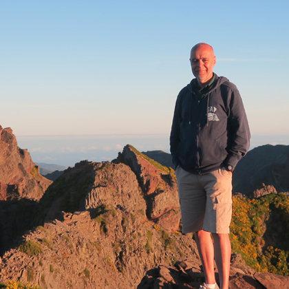 Pico do Areeiro (1818 m), Madeira, Portugal, 22.06.2019