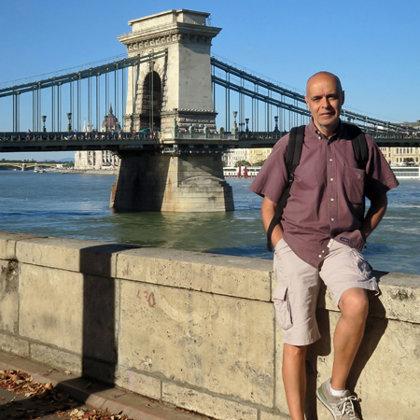 Széchenyi Chain Bridge, Budapest, Hungary, 12.09.2019