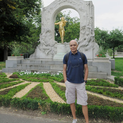 Johann Strauss Monument, Vienna, Austria, 17.09.2019
