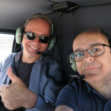 Helicopter tour, Algés, Portugal, 22.05.2016