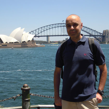 Sydney Opera House and Harbour Bridge, Sydney, Australia, 03.01.2012