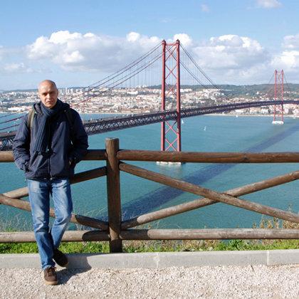 Ponte 25 de Abril, Almada, Portugal, 01.02.2015