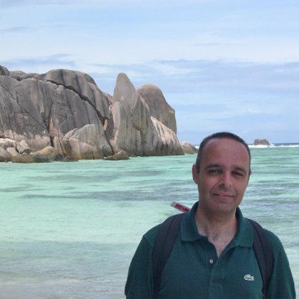 Anse Source d´Argent, La Digue, Seychelles, 11.06.2003