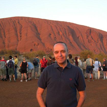 Uluru (Ayers Rock), Australia, 27.10.2003