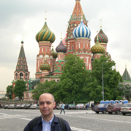 St. Basil's Cathedral, Moscow, Russia, 31.05.2004